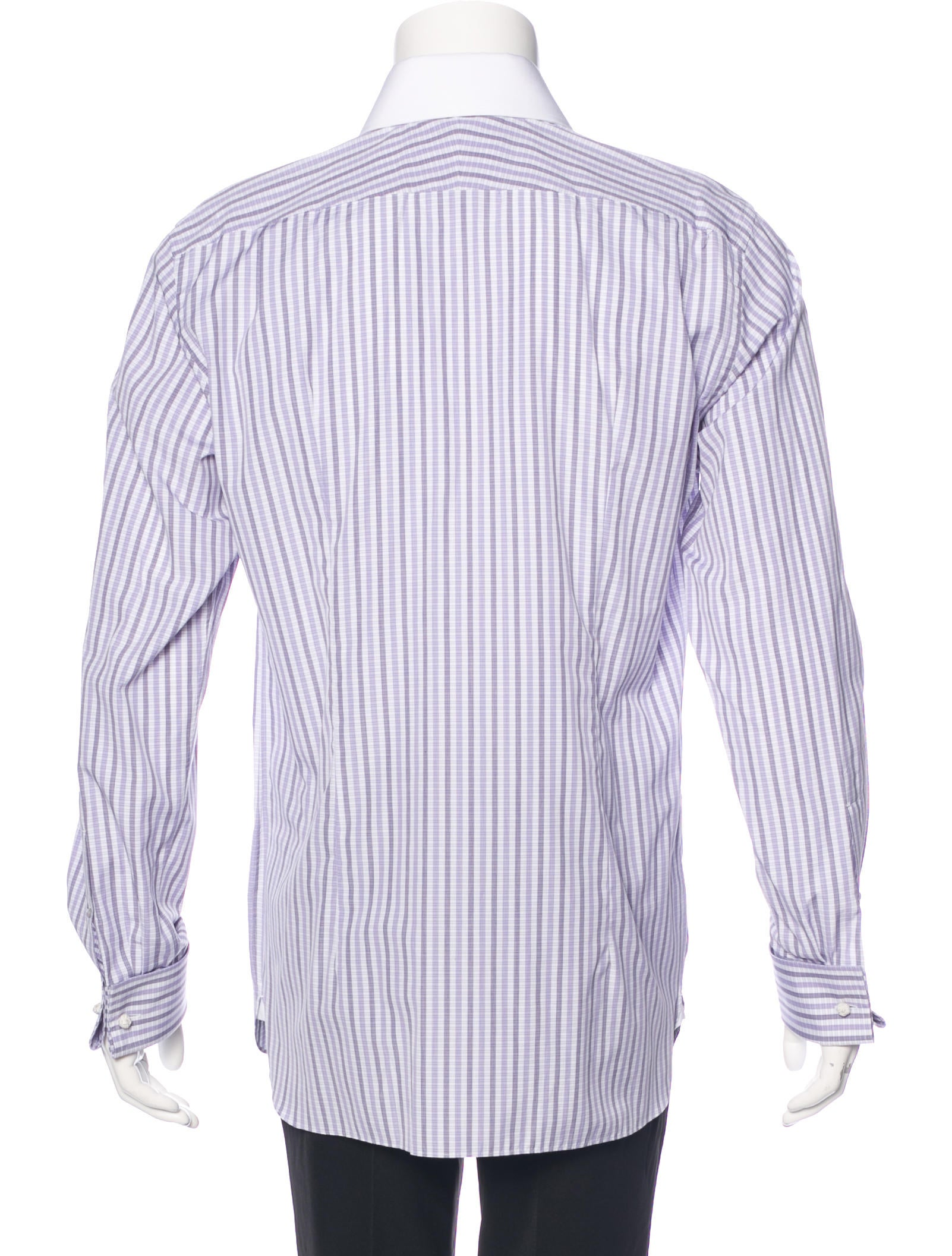 tom ford striped french cuff shirt clothing tom36381. Black Bedroom Furniture Sets. Home Design Ideas