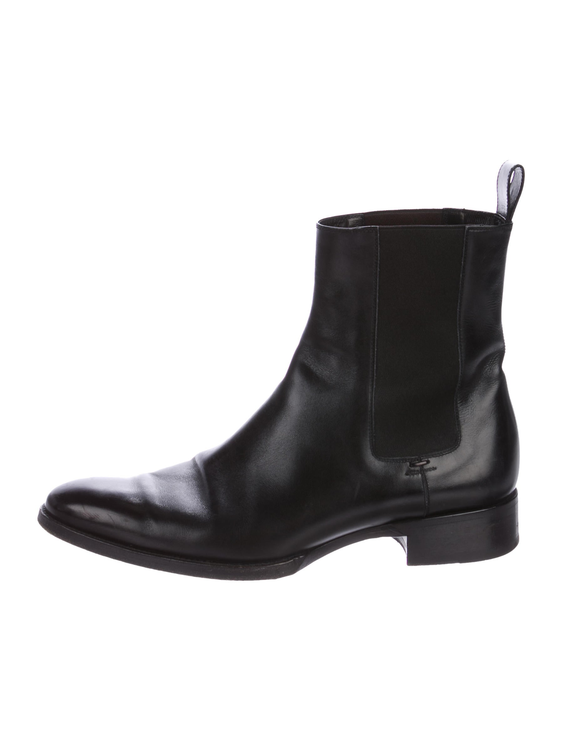 tom ford leather chelsea boots shoes tom36517 the