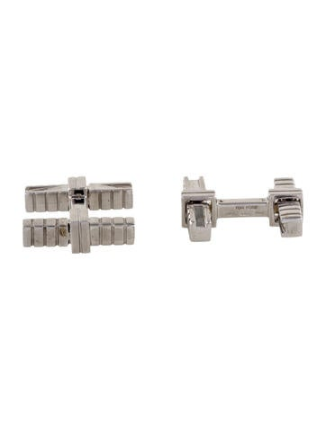 Tom Ford 18K Bar Cufflinks None