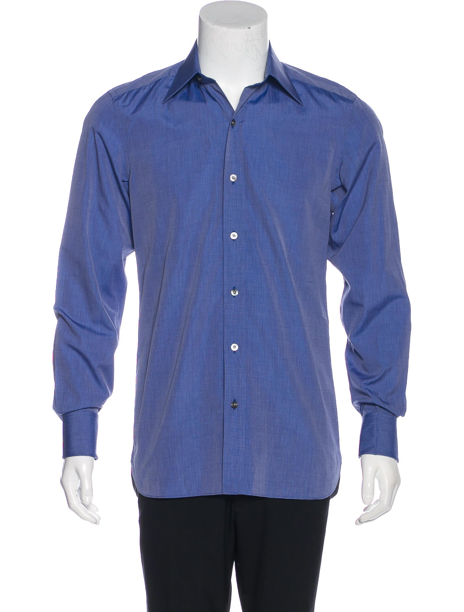 Tom ford french cuff dress shirt clothing tom36649 for Mens dress shirts french cuffs