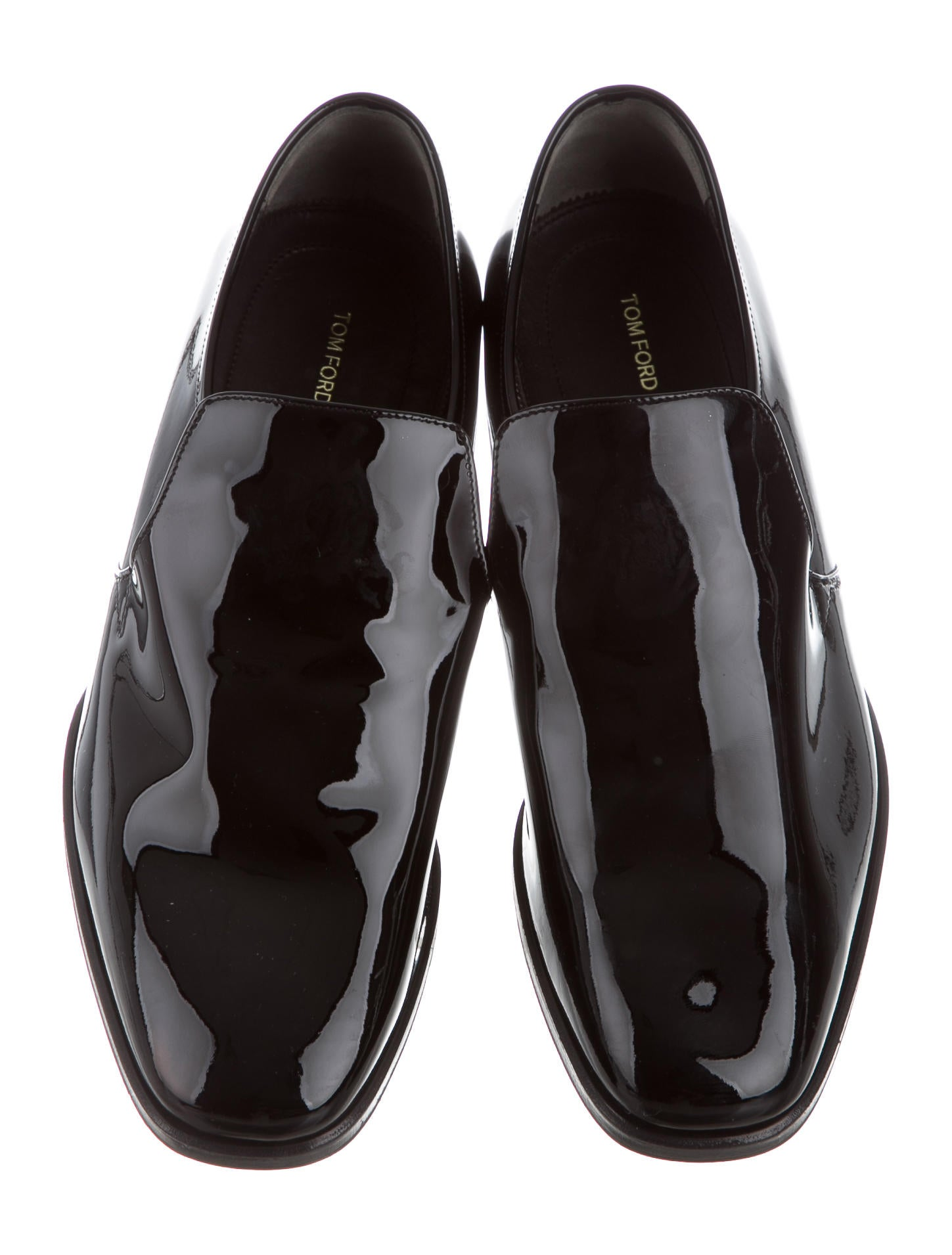 tom ford patent leather square toe loafers shoes. Black Bedroom Furniture Sets. Home Design Ideas