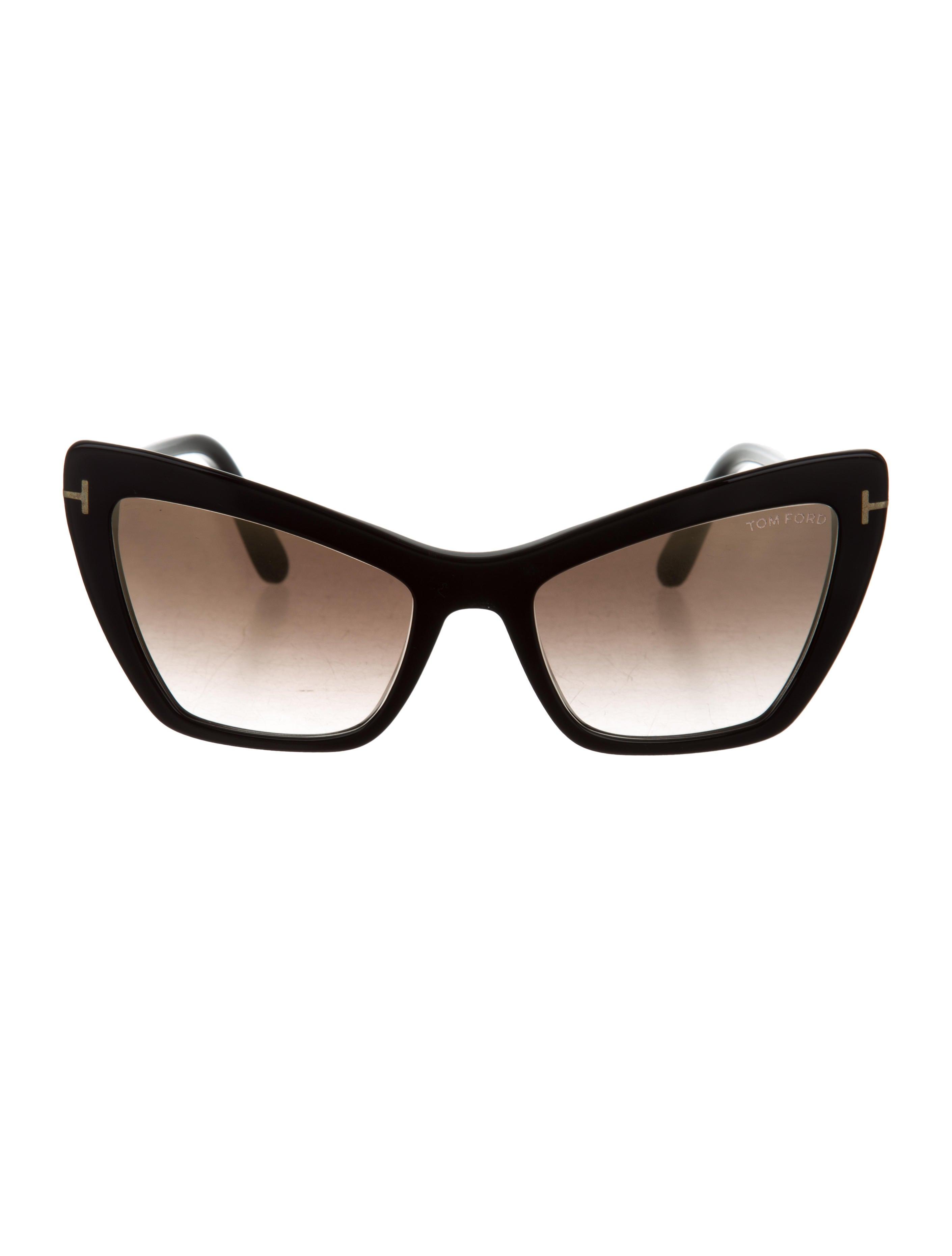9e7943e9596b Tom Ford Valesca-02 Cat-Eye Sunglasses - Accessories - TOM36693 ...