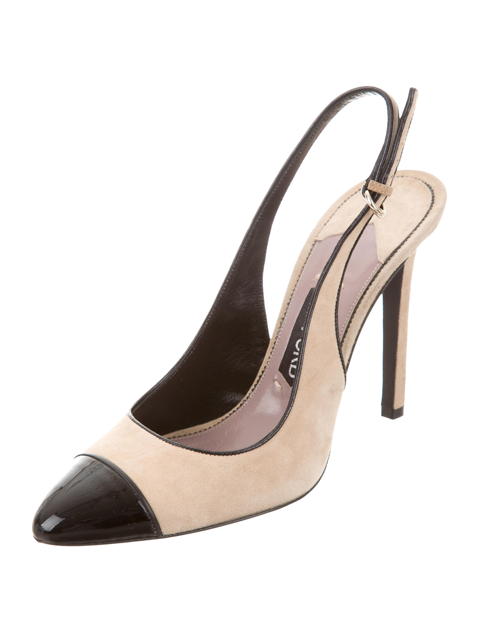 suede ford heels padlock pumps gallery shoes in product tom normal black lyst