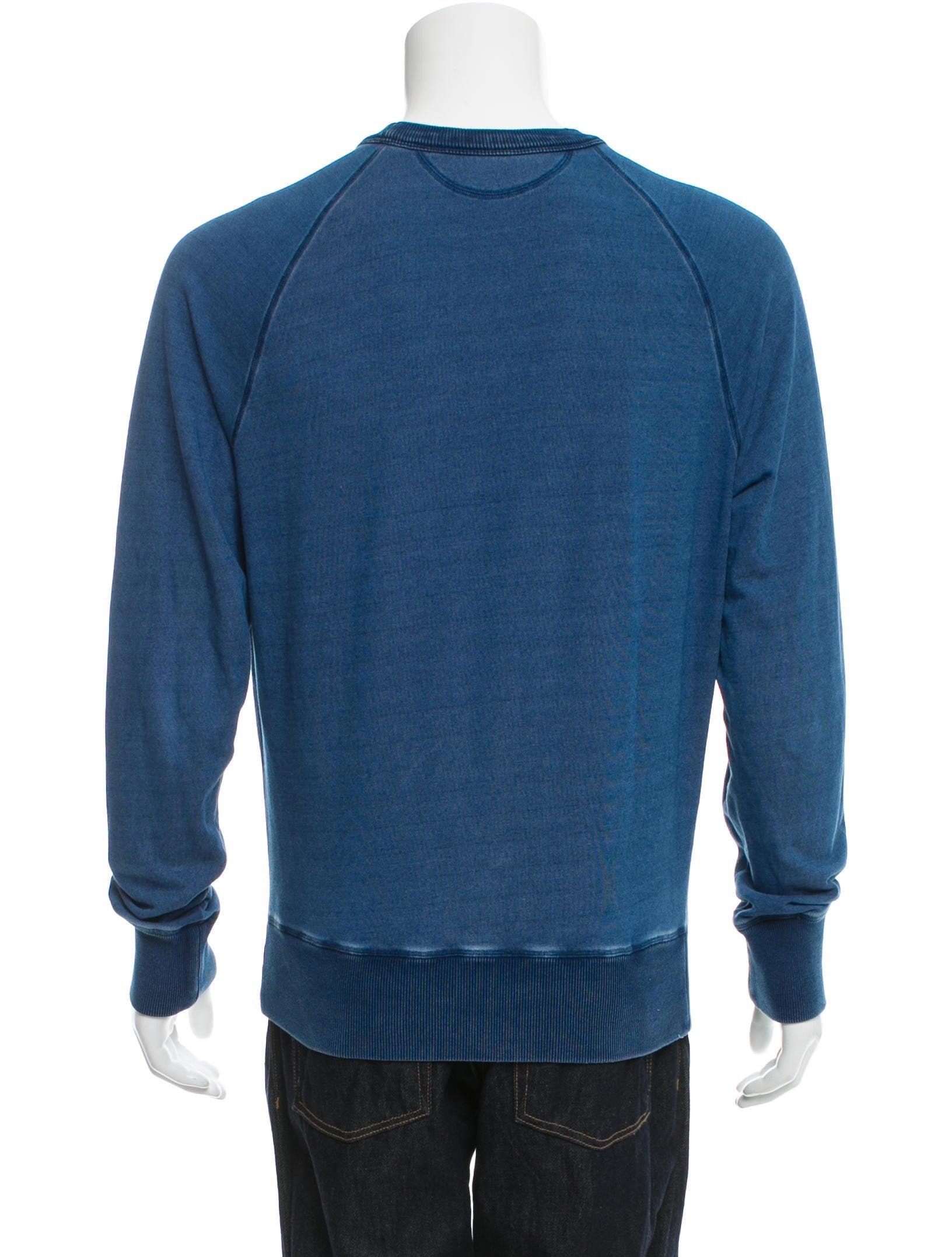 tom ford crew neck sweatshirt clothing tom37442 the. Black Bedroom Furniture Sets. Home Design Ideas