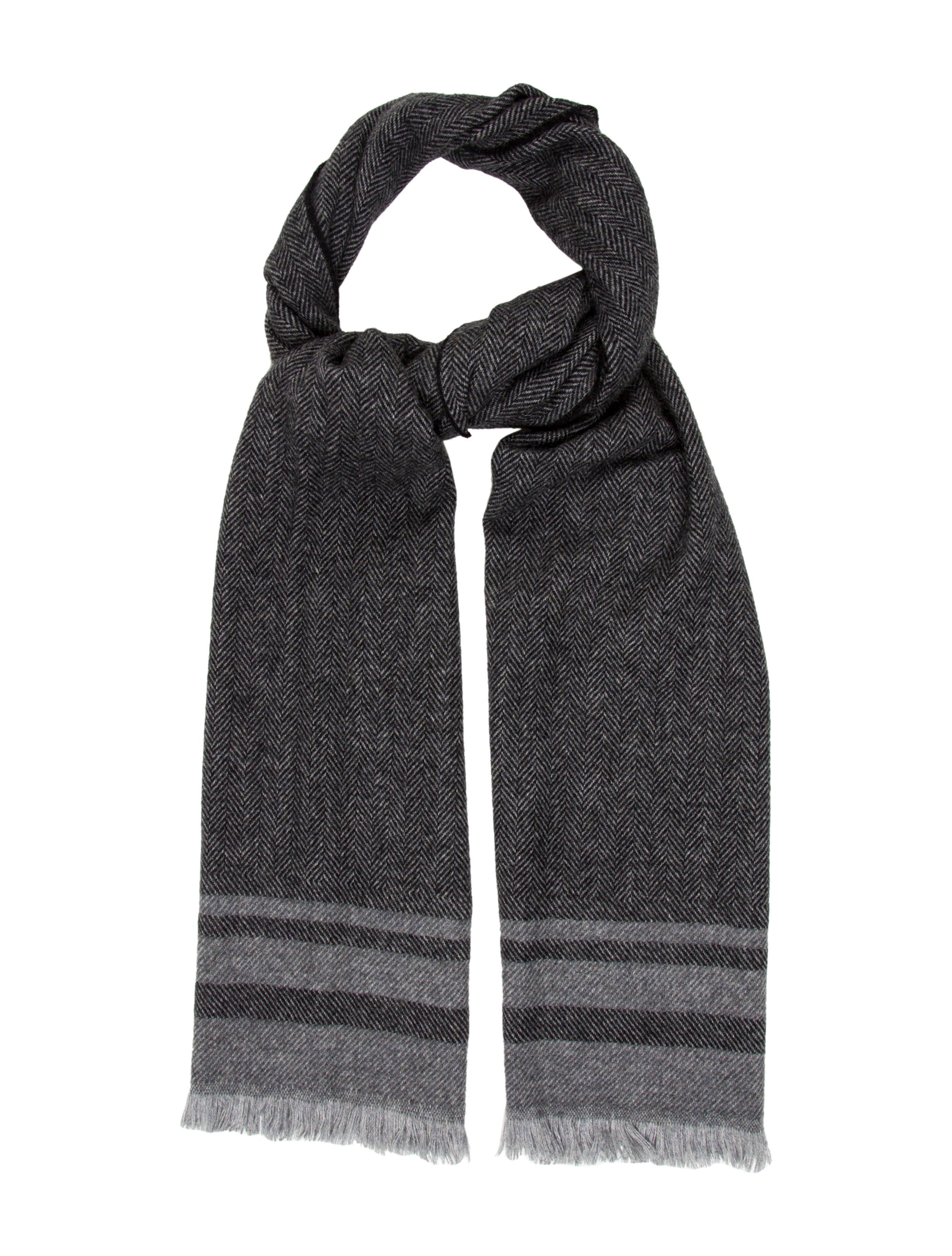 tom ford herringbone scarf w tags accessories