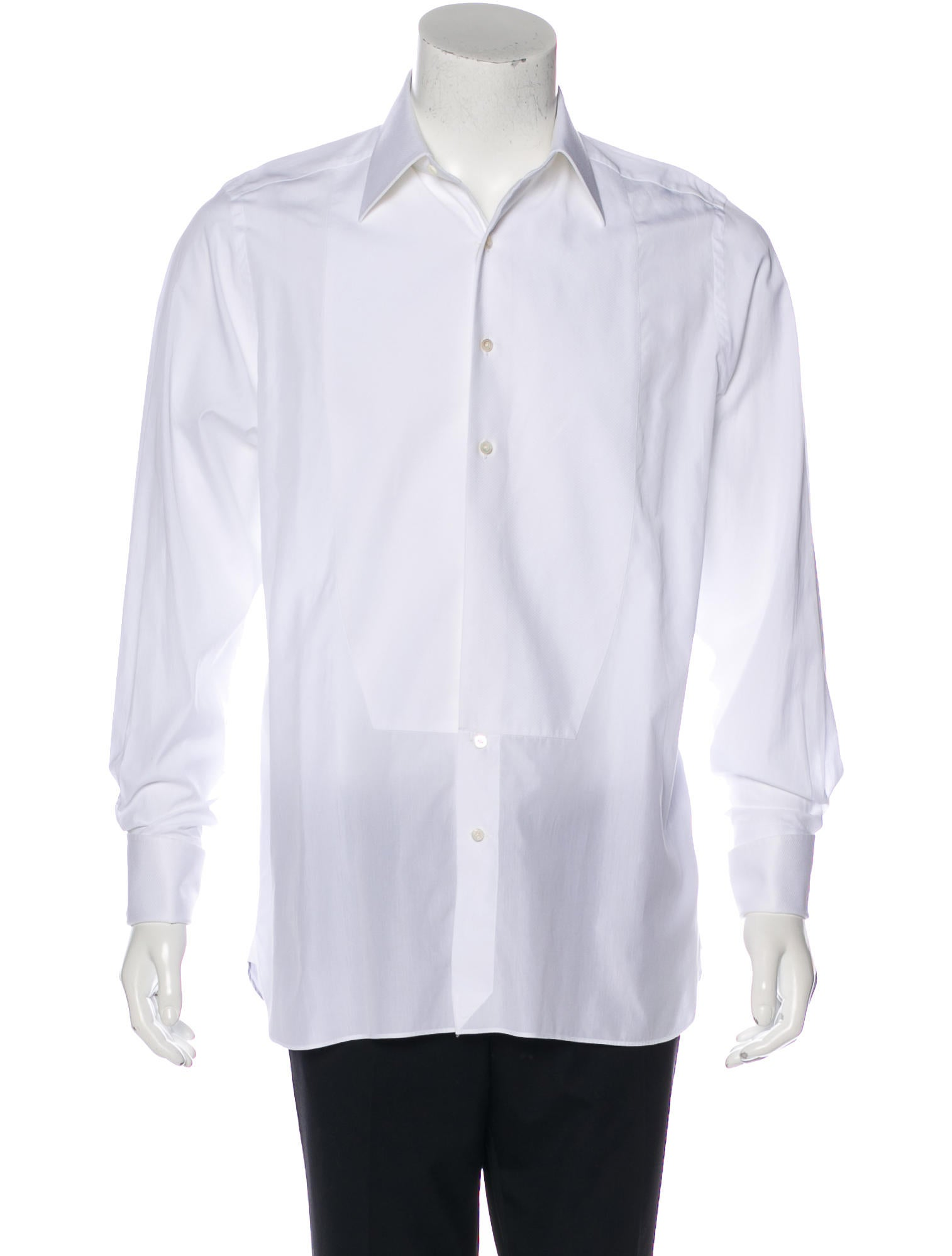 Tom ford tuxedo french cuff shirt clothing tom37626 for Tuxedo shirt french cuff
