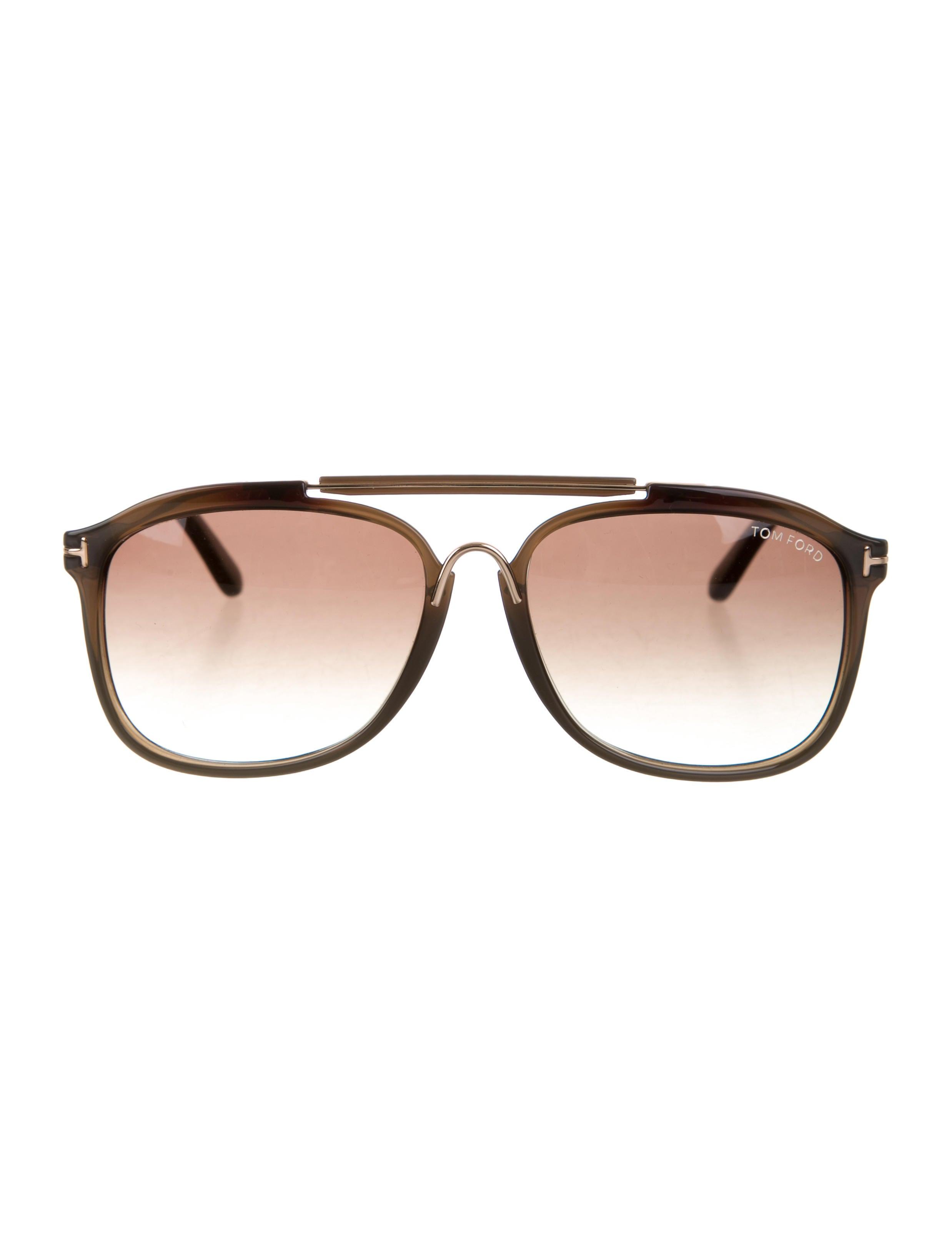 bee52a1ec1 Tom Ford Cade Aviator Sunglasses w  Tags - Accessories - TOM37847 ...