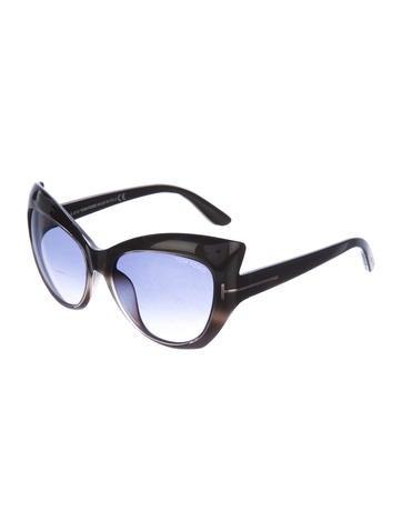 27facfb9d3 Tom Ford Bardot Sharp Cat-Eye Sunglasses - Accessories - TOM38454 ...