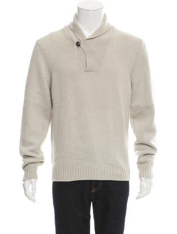 Tom Ford Cashmere Shawl Collar Sweater w/ Tags None