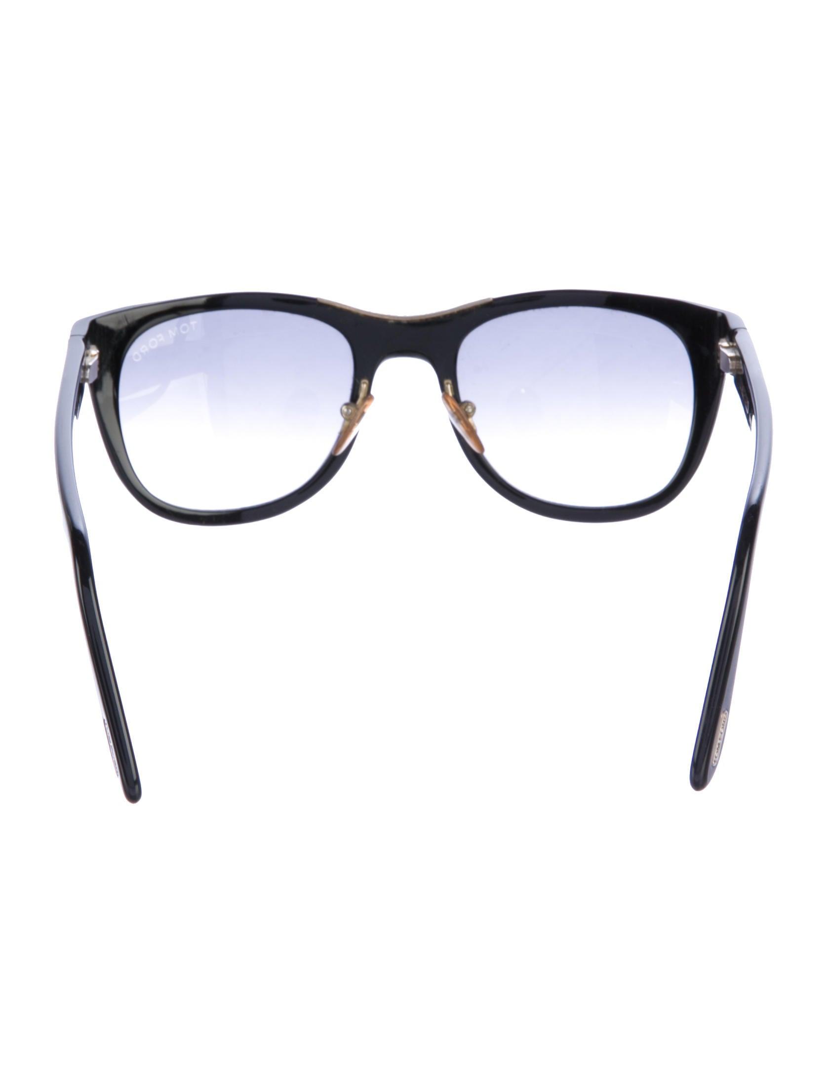 5326599f6e5 Tom Ford Eyewear Jack Resin Wayfarer
