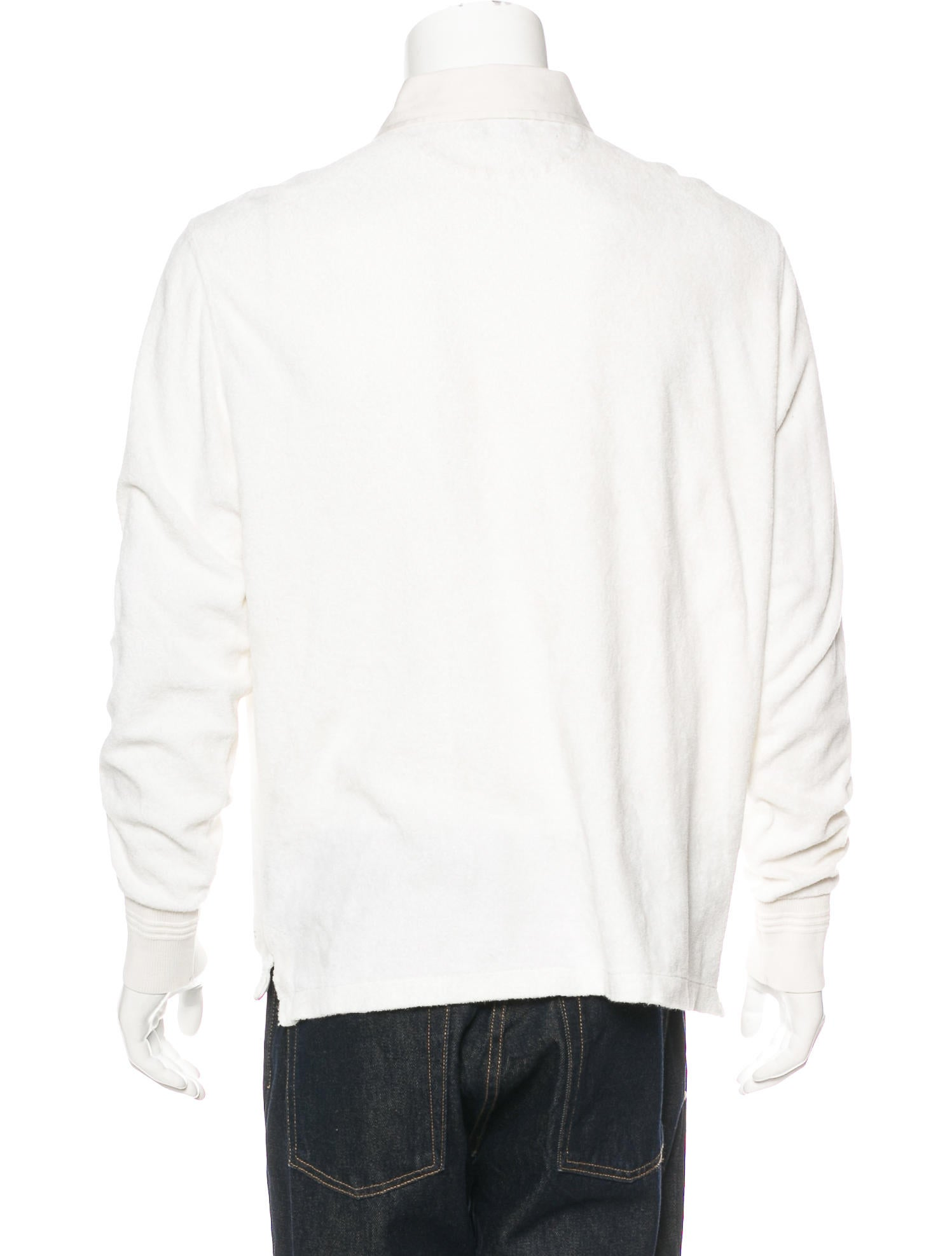 Tom ford terry cloth polo shirt clothing tom40315 for Terry cloth polo shirt