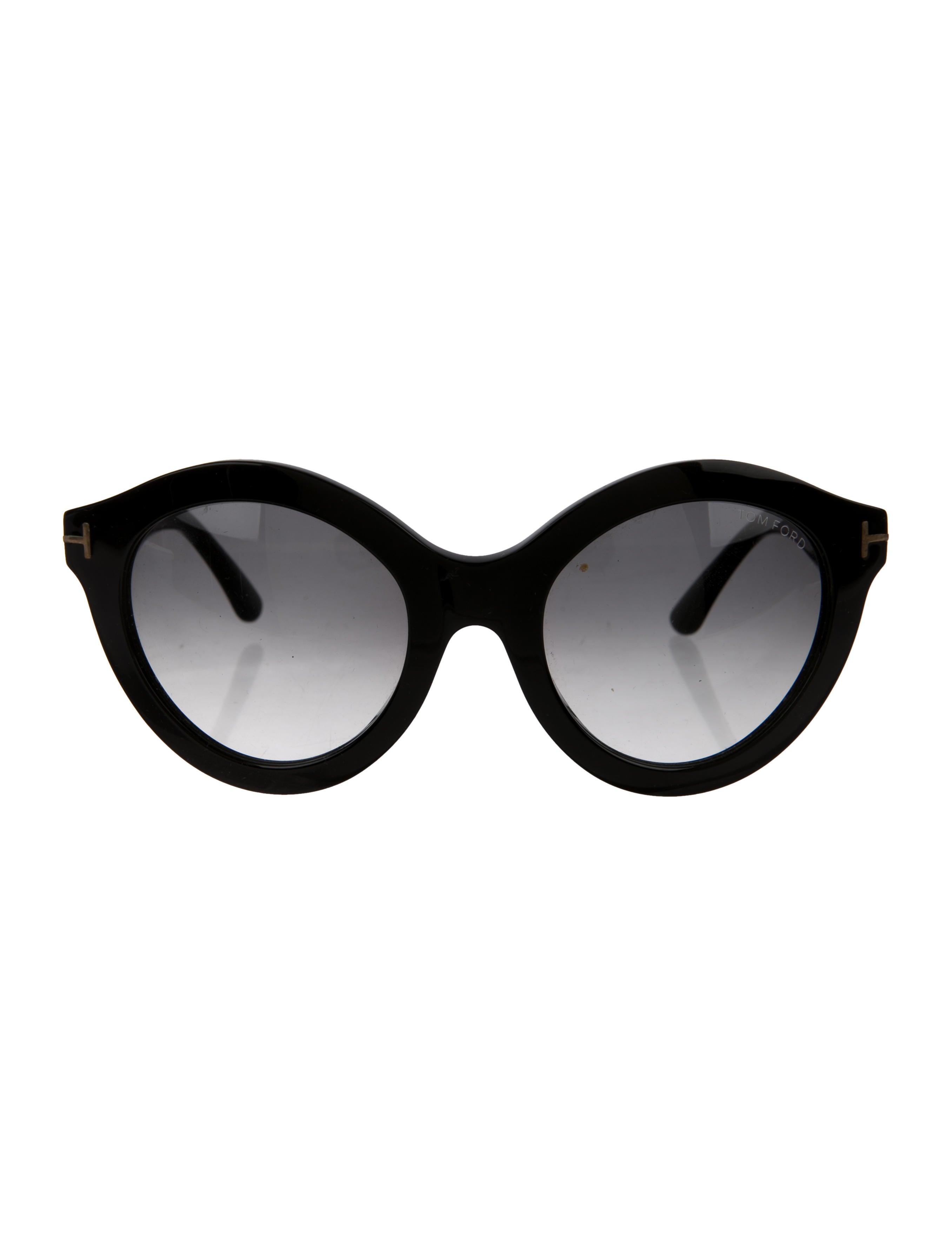 18dc8e09906c Tom Ford Chiara Oversize Sunglasses - Accessories - TOM46319