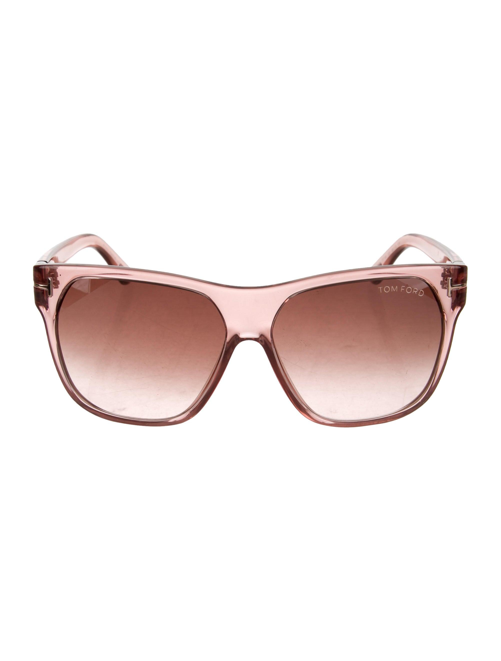 bdf24aeee4 Tom Ford Federico Logo Sunglasses - Accessories - TOM47996