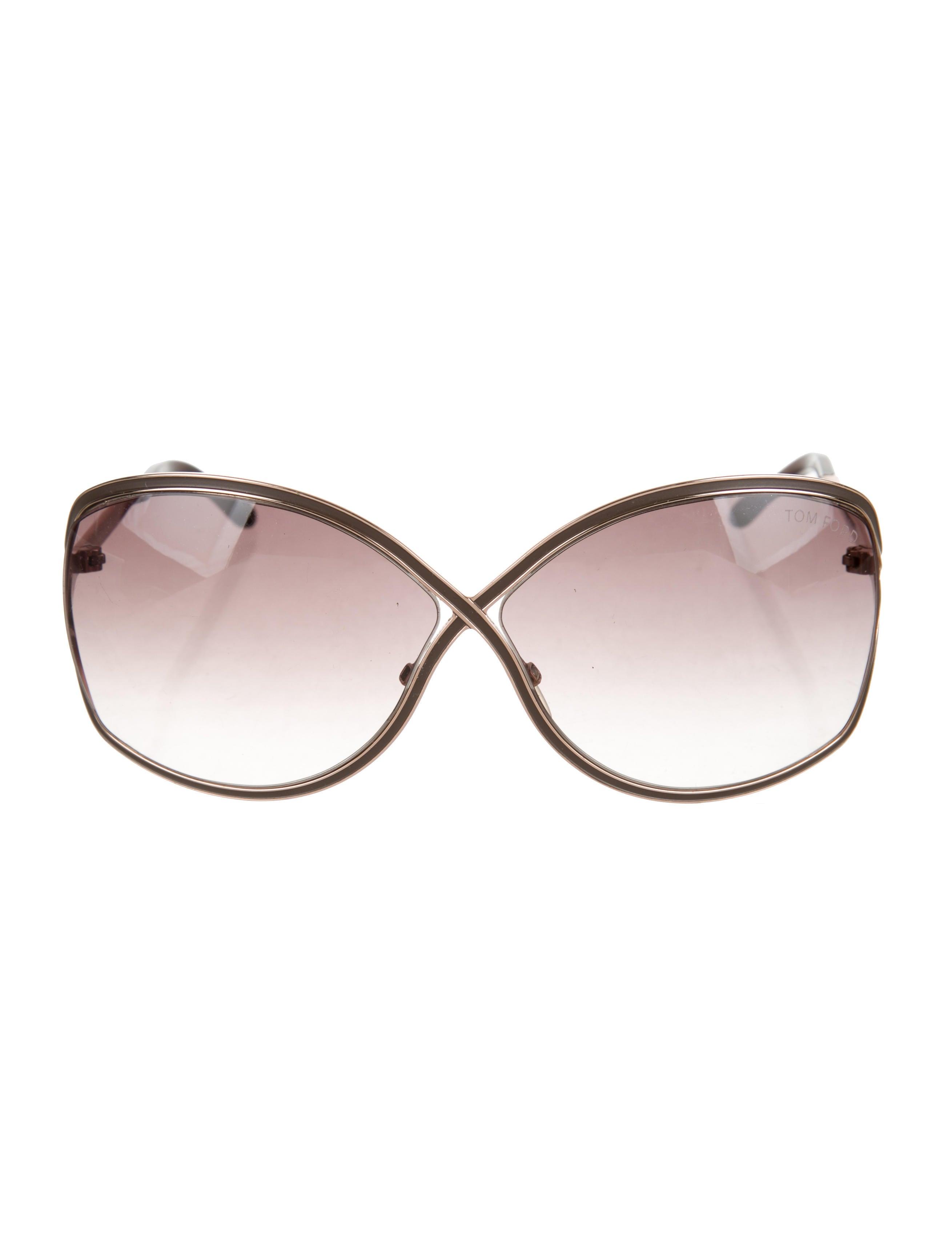 c90ad85b086c2 Tom Ford Rickie Oversize Sunglasses - Accessories - TOM49409