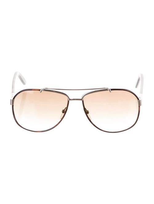 Tom Ford Miguel Square Sunglasses Brown