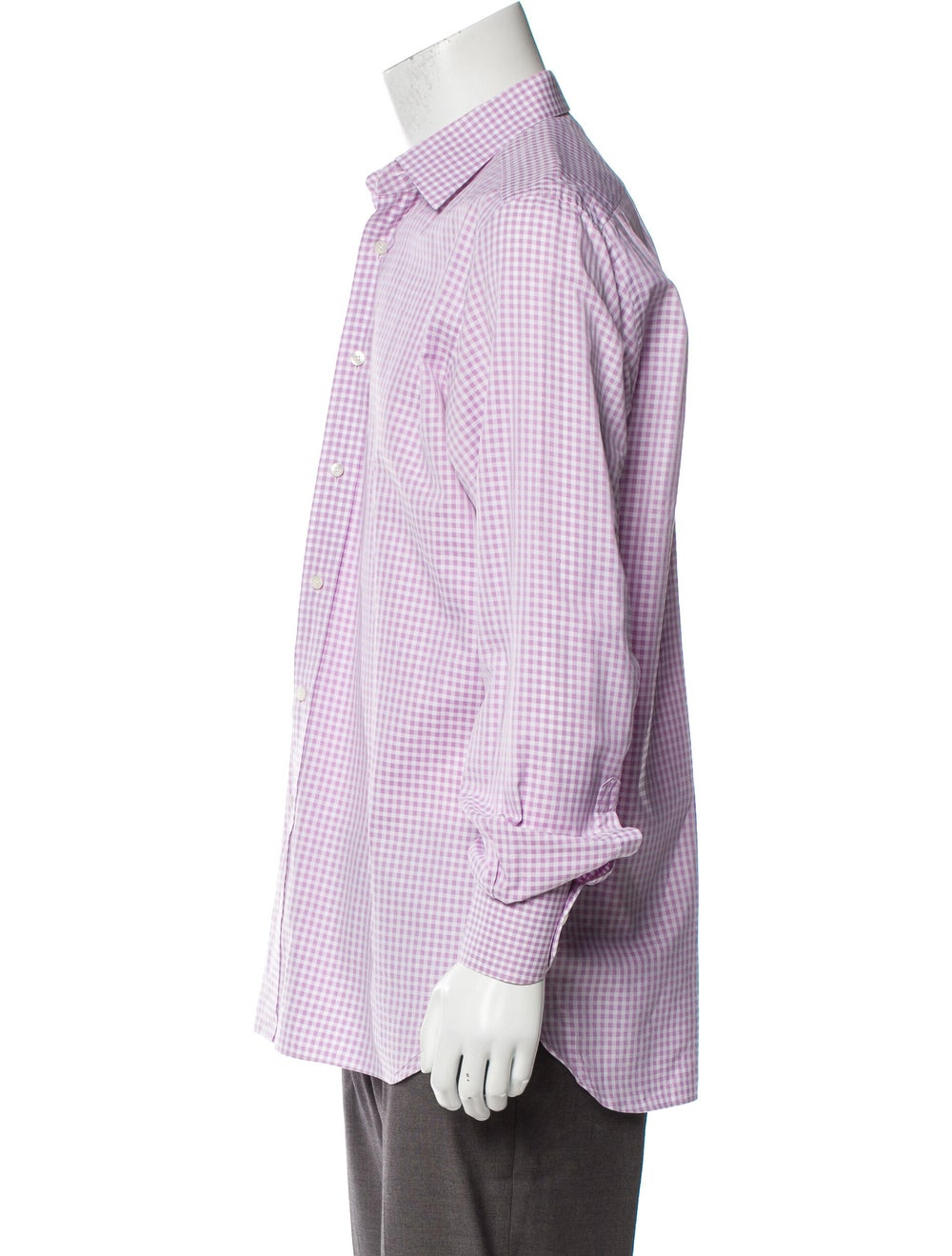 Tom Ford Gingham Dress Shirt pink - image 2