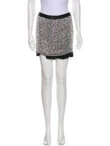 Tom Ford Silk Mini Skirt