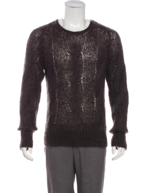 Tom Ford Mohair Cable Knit Sweater