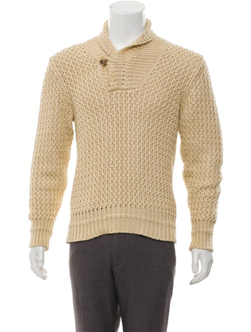 Tom Ford Knit Shawl Collar Sweater