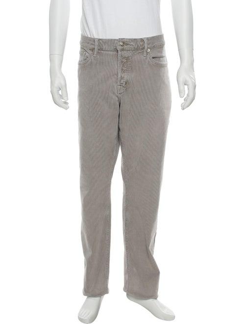 Tom Ford Corduroy Woven Pants grey