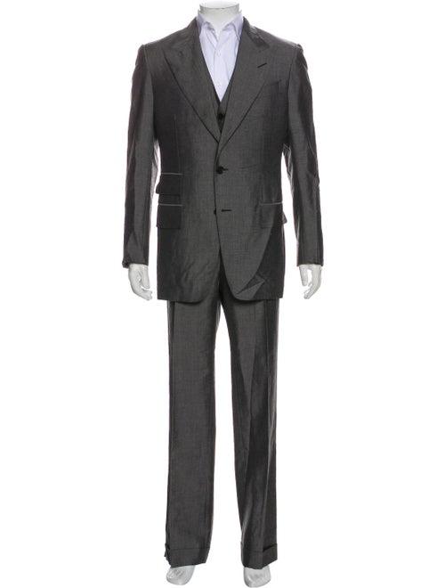 Tom Ford Three-Piece Suit Grey