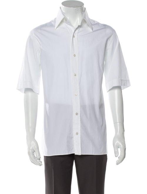 Tom Ford Short Sleeve Shirt White