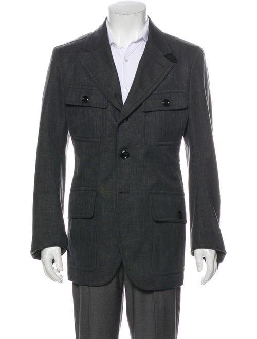 Tom Ford Linen Jacket Grey - image 1