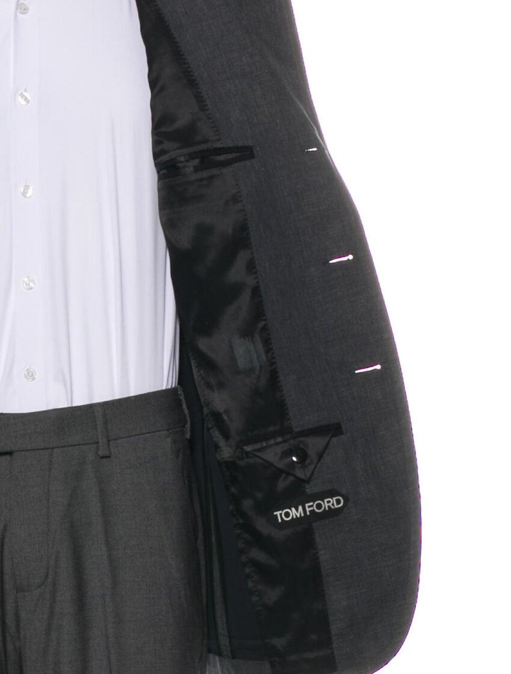 Tom Ford Linen Jacket Grey - image 4