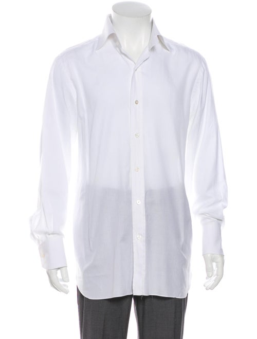 Tom Ford Long Sleeve Dress Shirt White