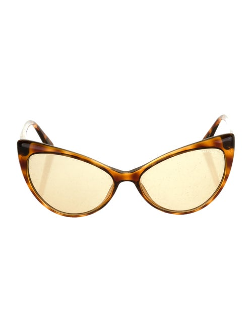 Tom Ford Anastasia Cat-Eye Sunglasses Brown