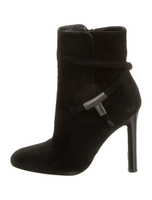 Tom Ford Suede Boots Black