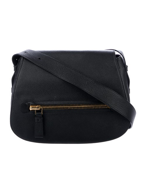 Tom Ford Jennifer Saddle Bag Black