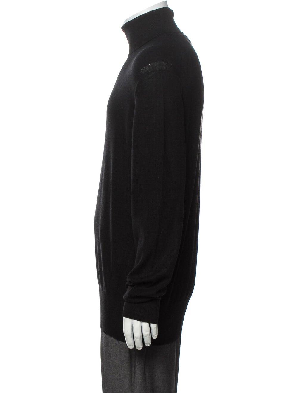 Tom Ford Cashmere Turtleneck Pullover Black - image 2