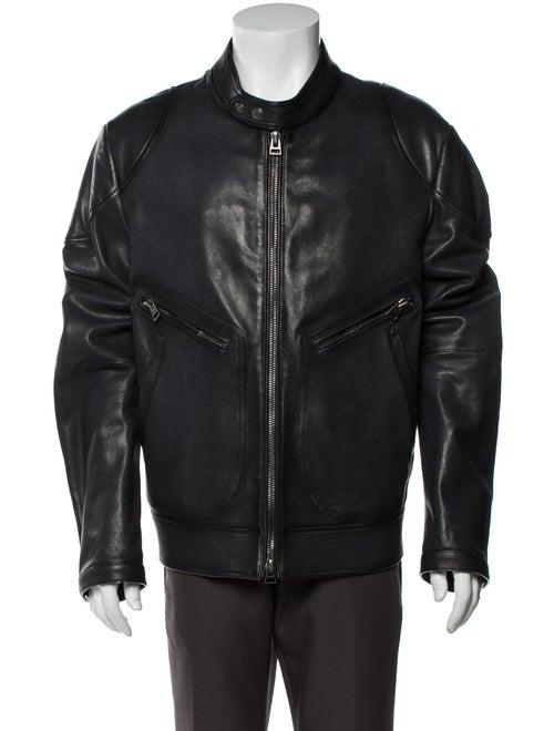 Tom Ford Bomber Jacket Black