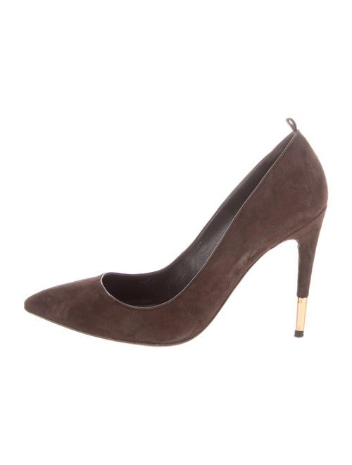 Tom Ford Suede Pumps Brown