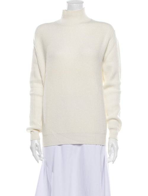 Tom Ford Cashmere Turtleneck Sweater White