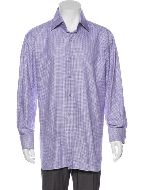 Tom Ford French Cuff Dress Shirt purple