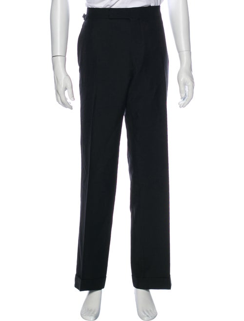 Tom Ford Mohair Dress Pants Black