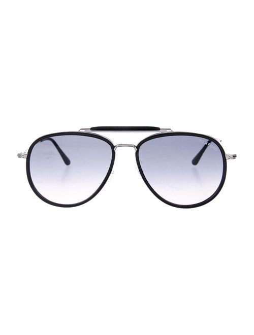 Tom Ford Tripp Aviator Sunglasses black