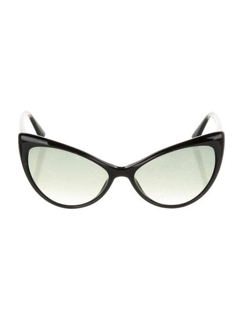 Tom Ford Anastasia Cat-Eye Sunglasses Black