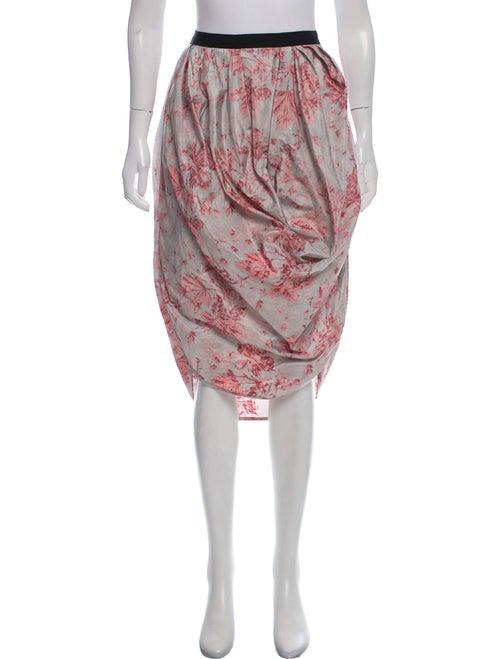Brock Collection Selena Floral Skirt Pink