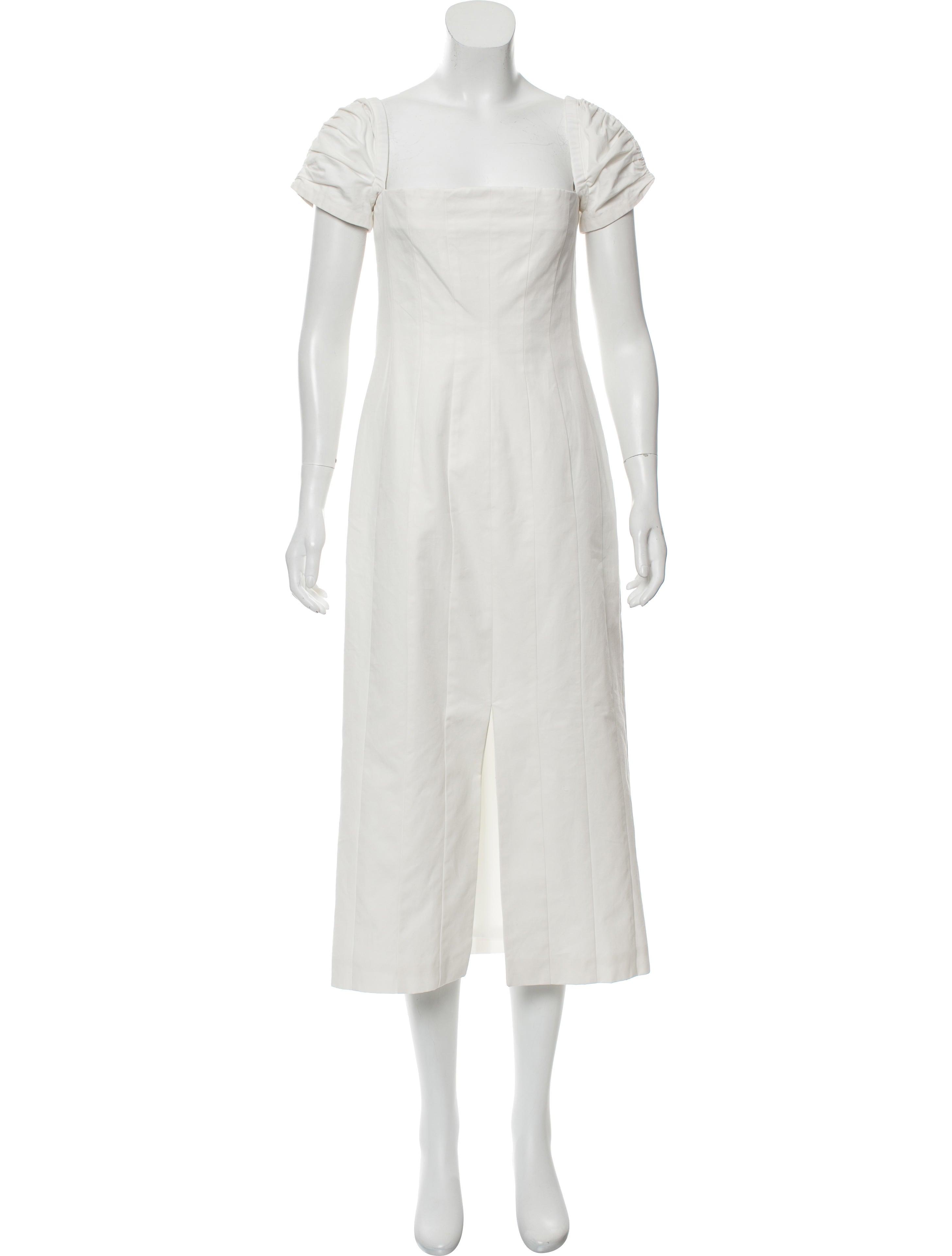 Cap Sleeve Midi Dress w/ Tags
