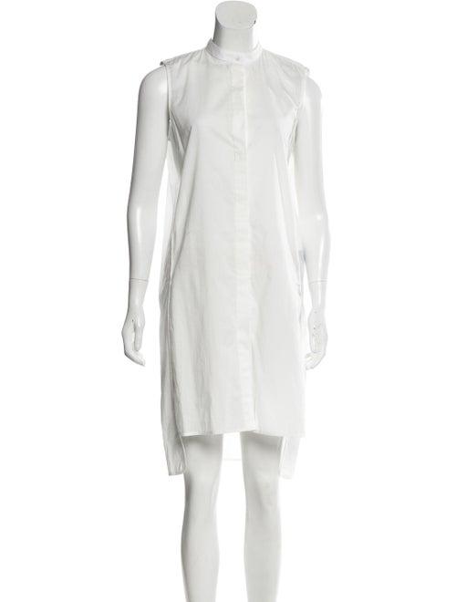 Brock Collection Dee Sleeveless Shirtdress White