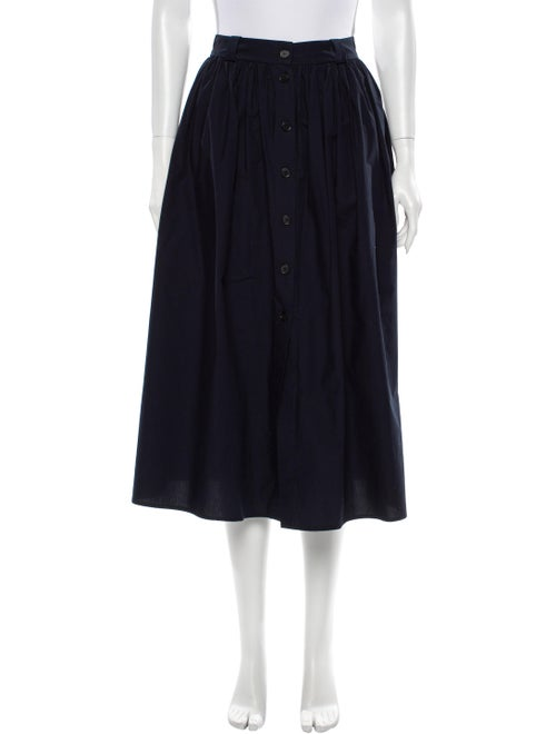 Brock Collection Midi Length Skirt Blue