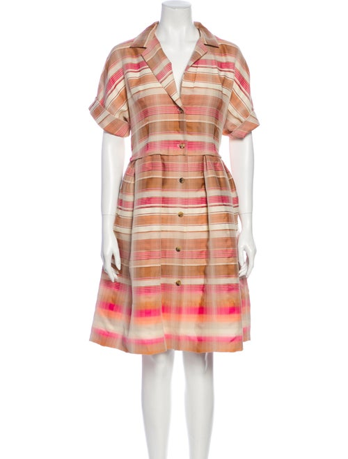 Brock Collection Striped Knee-Length Dress