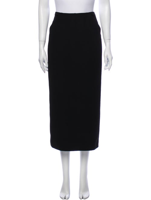 Brock Collection Midi Length Skirt Black