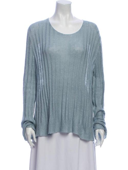 Brock Collection Scoop Neck Sweater Blue