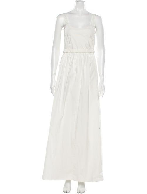 Brock Collection Square Neckline Long Dress