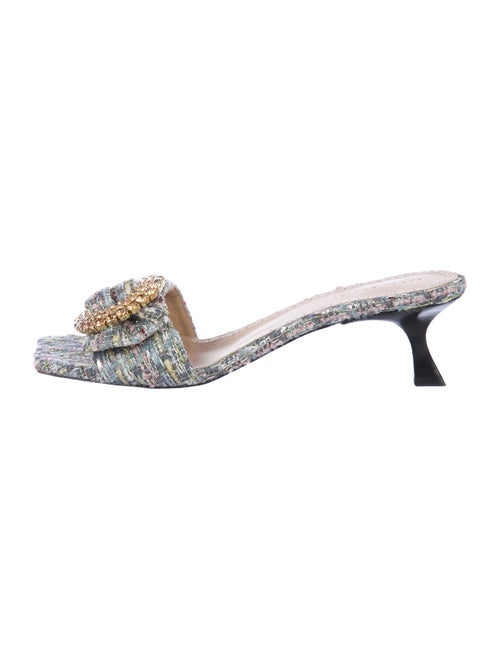 Brock Collection Tweed Pattern Crystal Embellishme
