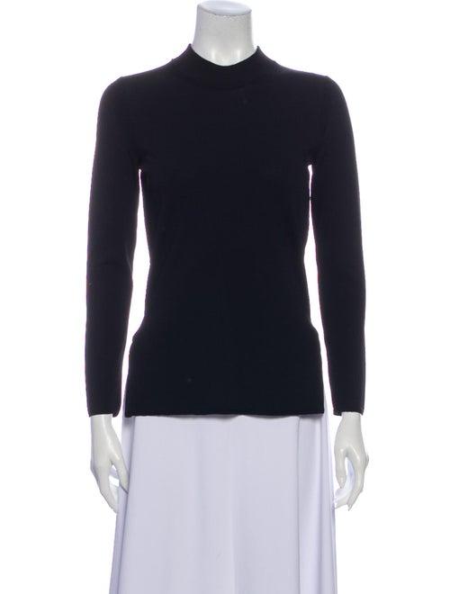 Brock Collection Mock Neck Sweater Black